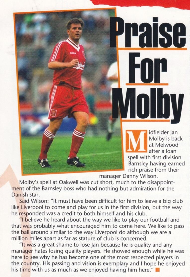 Jan made his mark at Barnsley - 1995/96