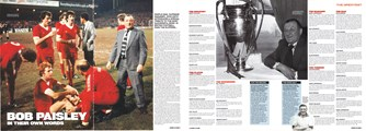 Paisley - in their own words - LFC Official Matchday Magazine