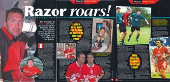 Interview in The Official Liverpool Magazine 1994/95