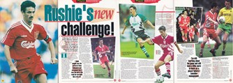 Rushie's new challenge at Anfield - LFC Matchday Magazine 1995/96