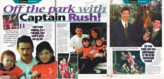 Off the park with captain Rush - LFC Magazine interview 1995/96