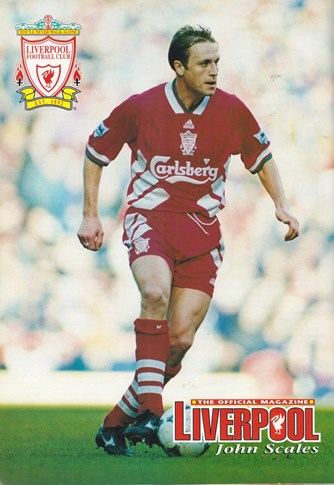 Poster from LFC Matchday Magazine - John Scales