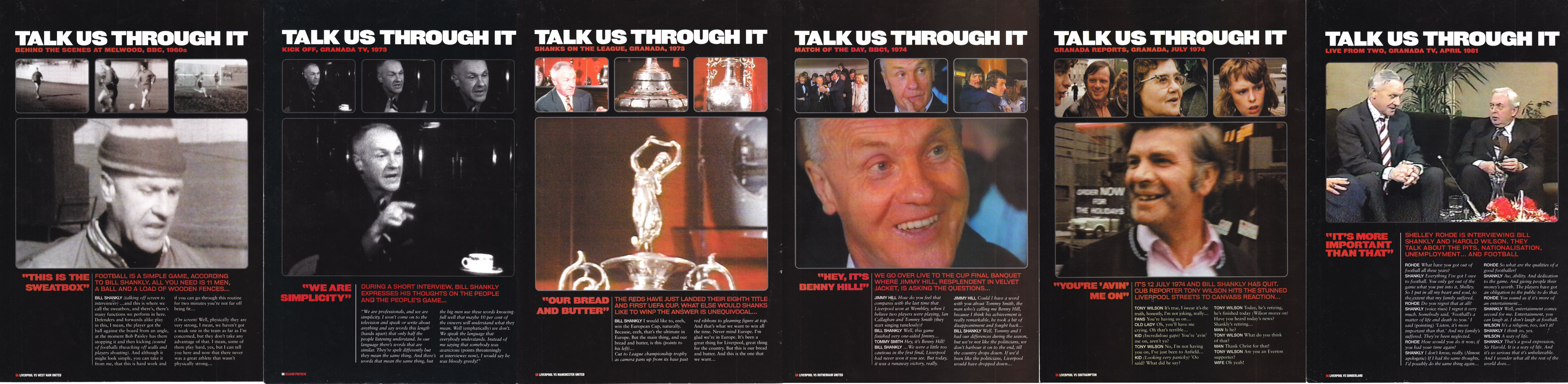 Talk us through it - LFC Official Matchday Magazine