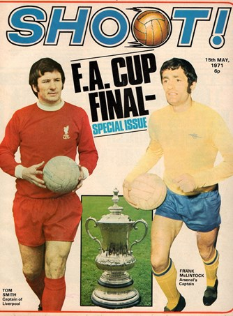The front cover of Shoot! leading up to the 1971 final