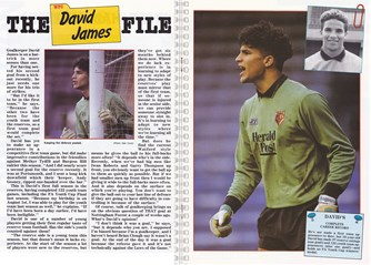1990 - Match programme Watford vs West Ham