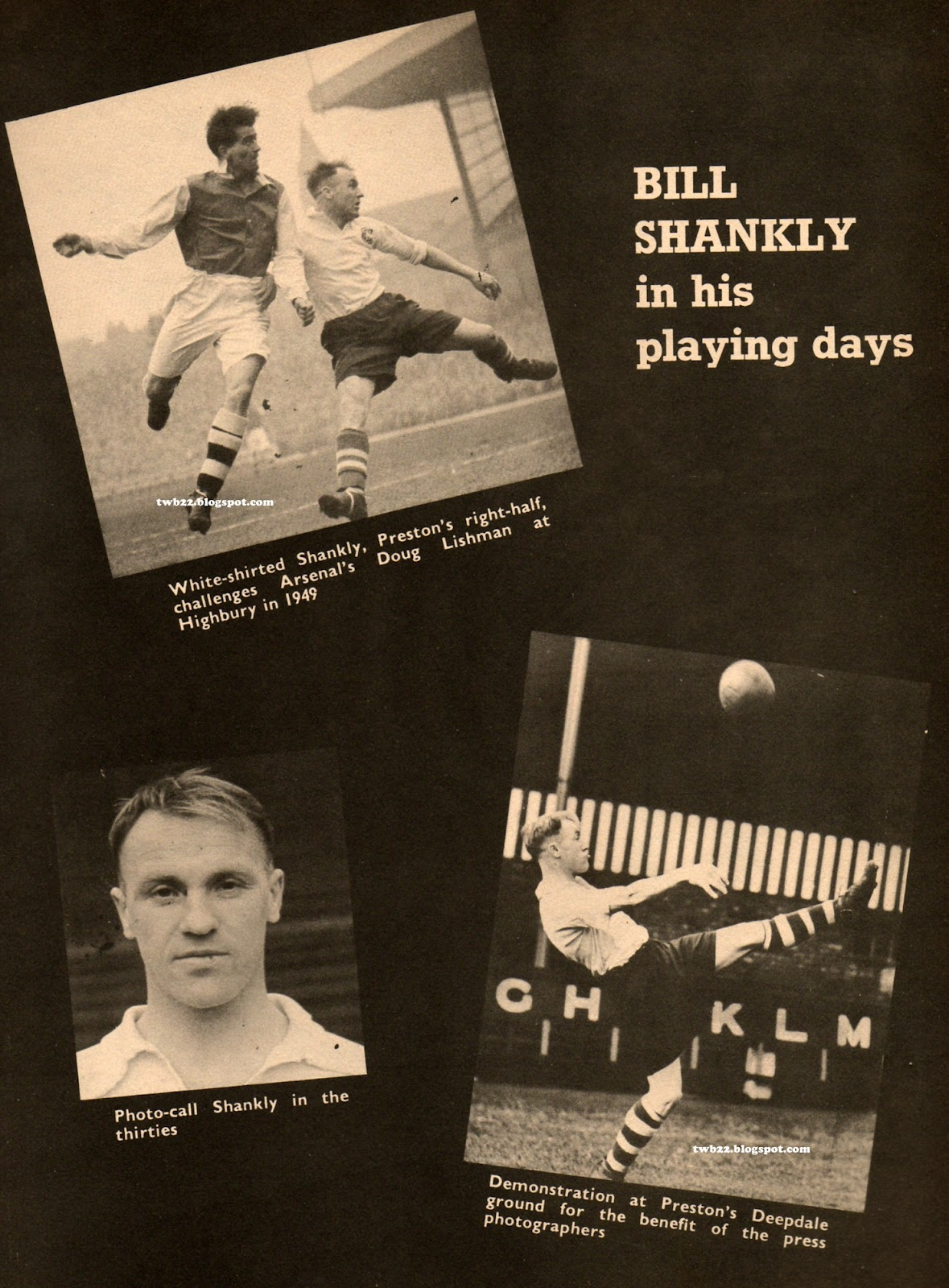 Shankly the player