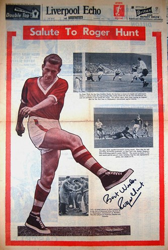 A salute to Roger Hunt on 7 April 1962