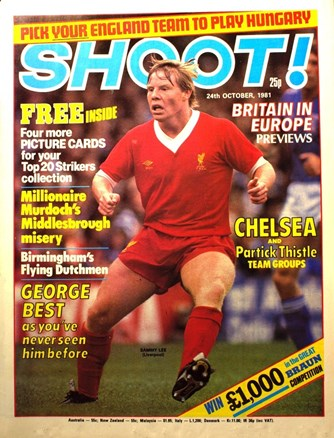 Sammy Lee on the cover of Shoot!