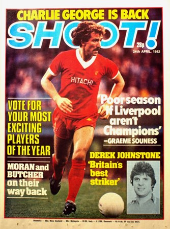 Graeme Souness on the cover of Shoot!