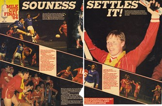 Souness settles it! - Milk Cup final 1984