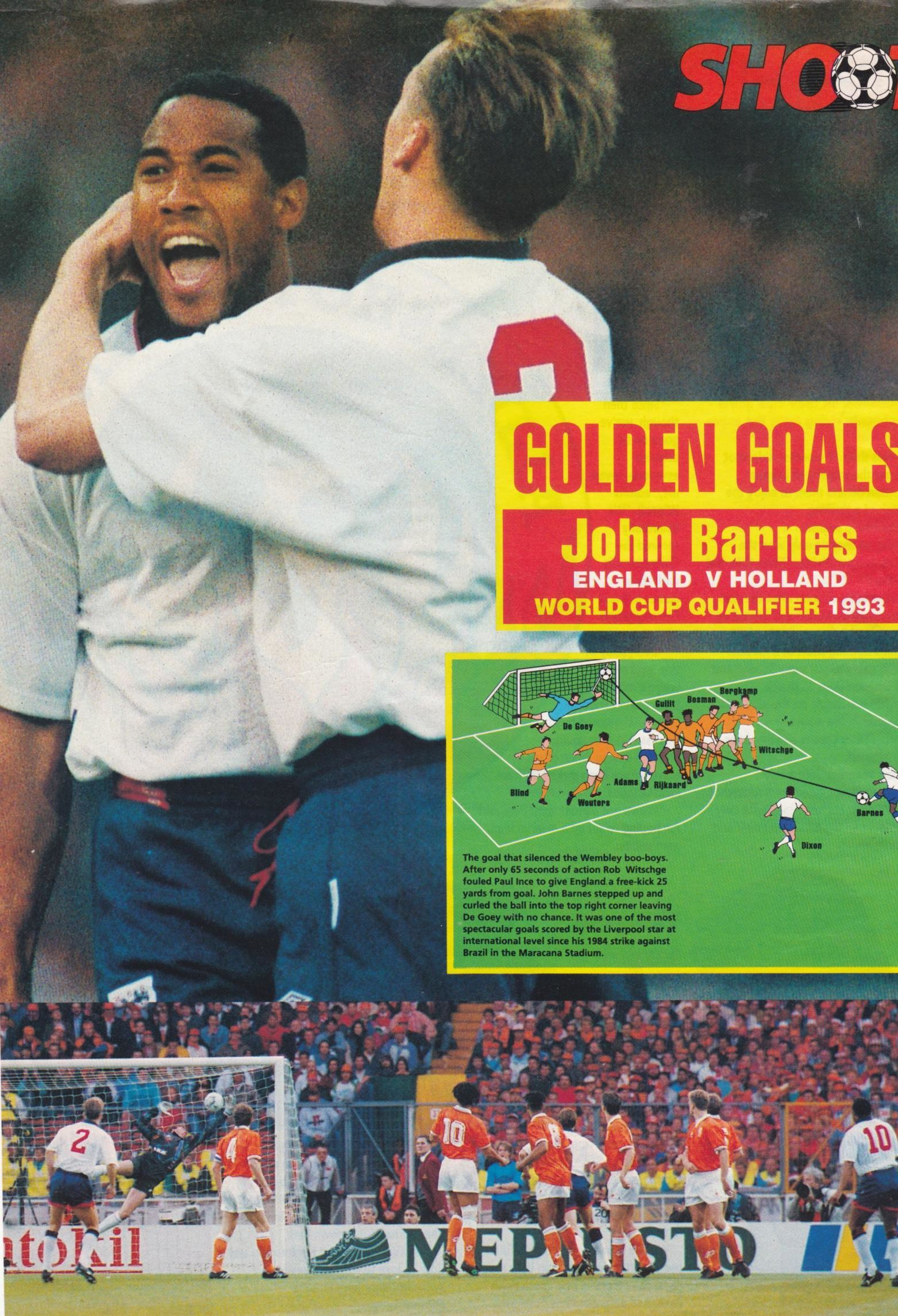 Golden goal vs. Holland 1993