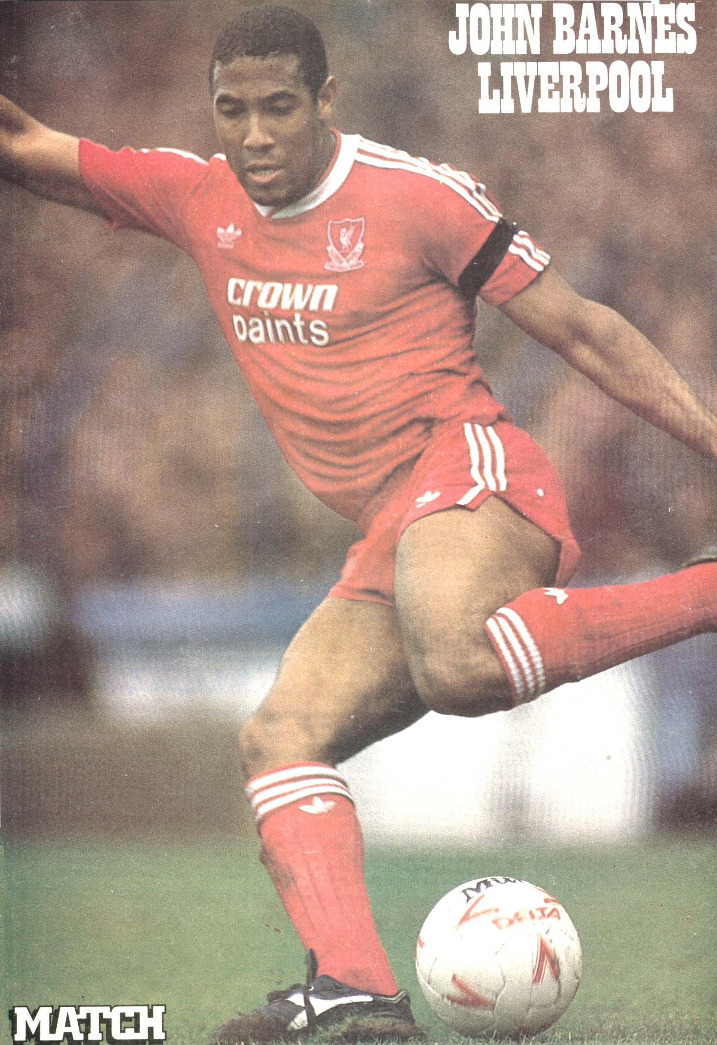 Match poster of Barnes in 1988