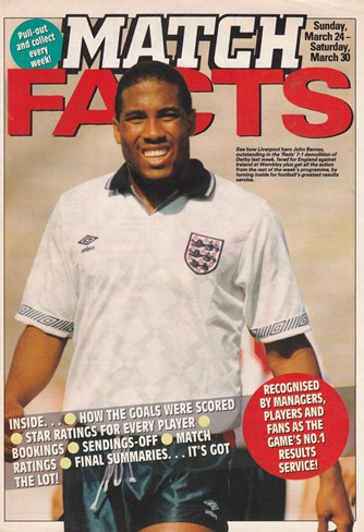 Cover of Match's match facts March 1991