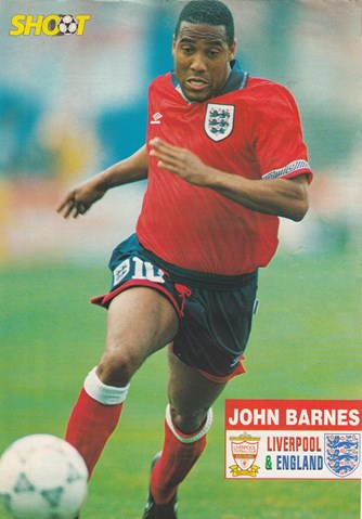 Shoot! poster of Barnes in England's red