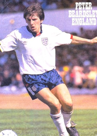 Poster of England's Peter Beardsley