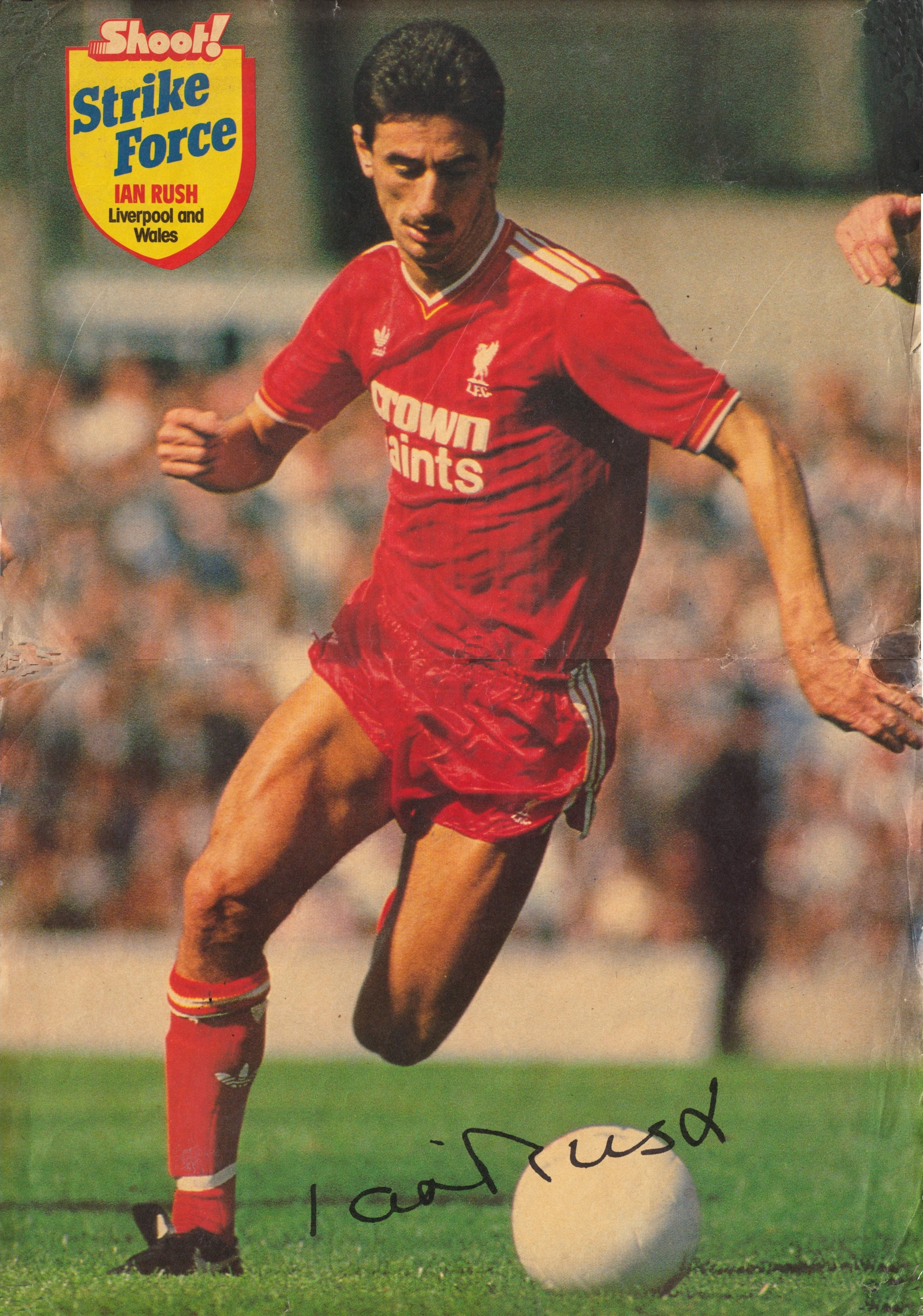 Liverpool Career Stats For Ian Rush Lfchistory Stats