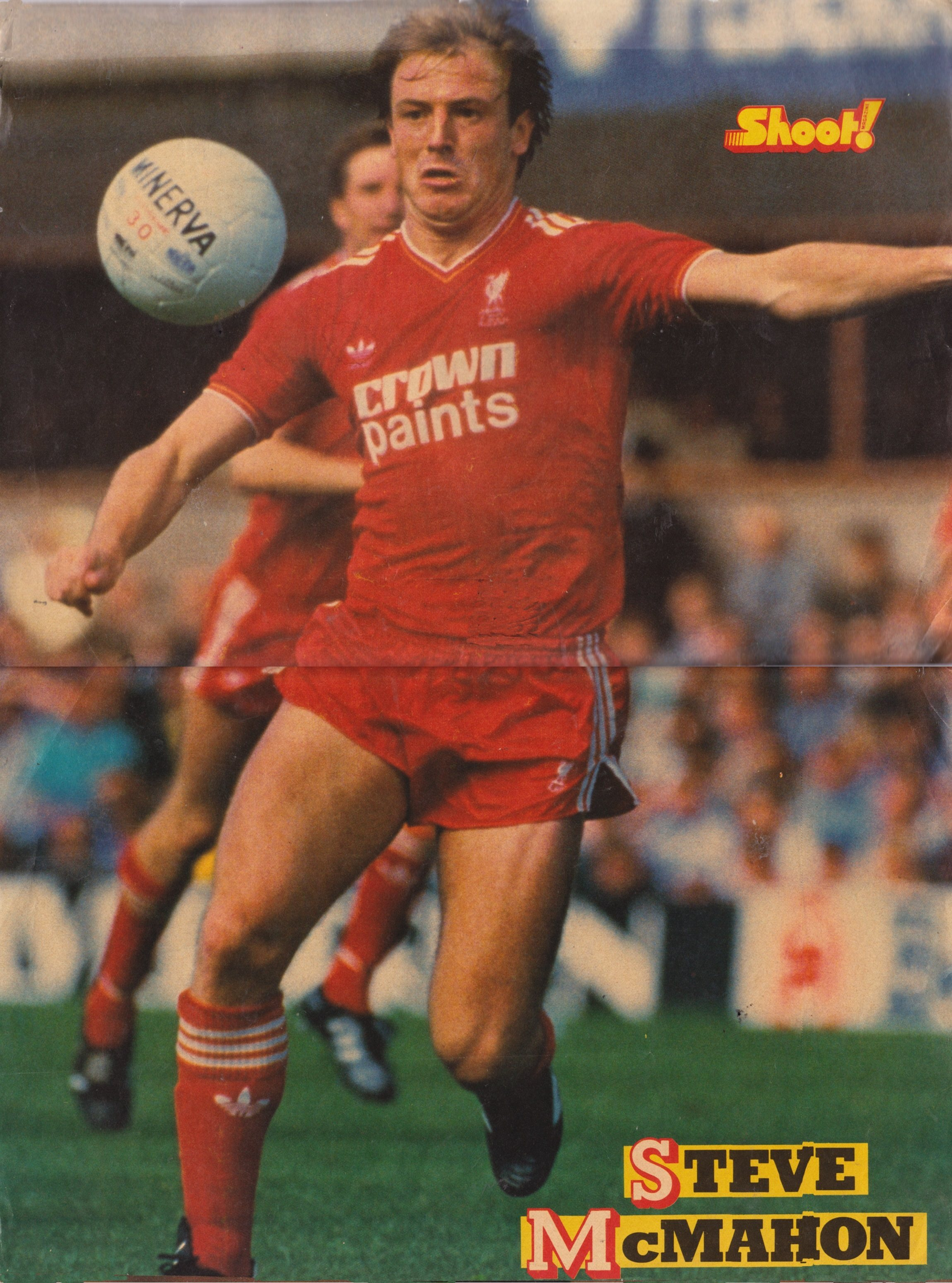 Big Shoot! poster of Steve McMahon - 1985