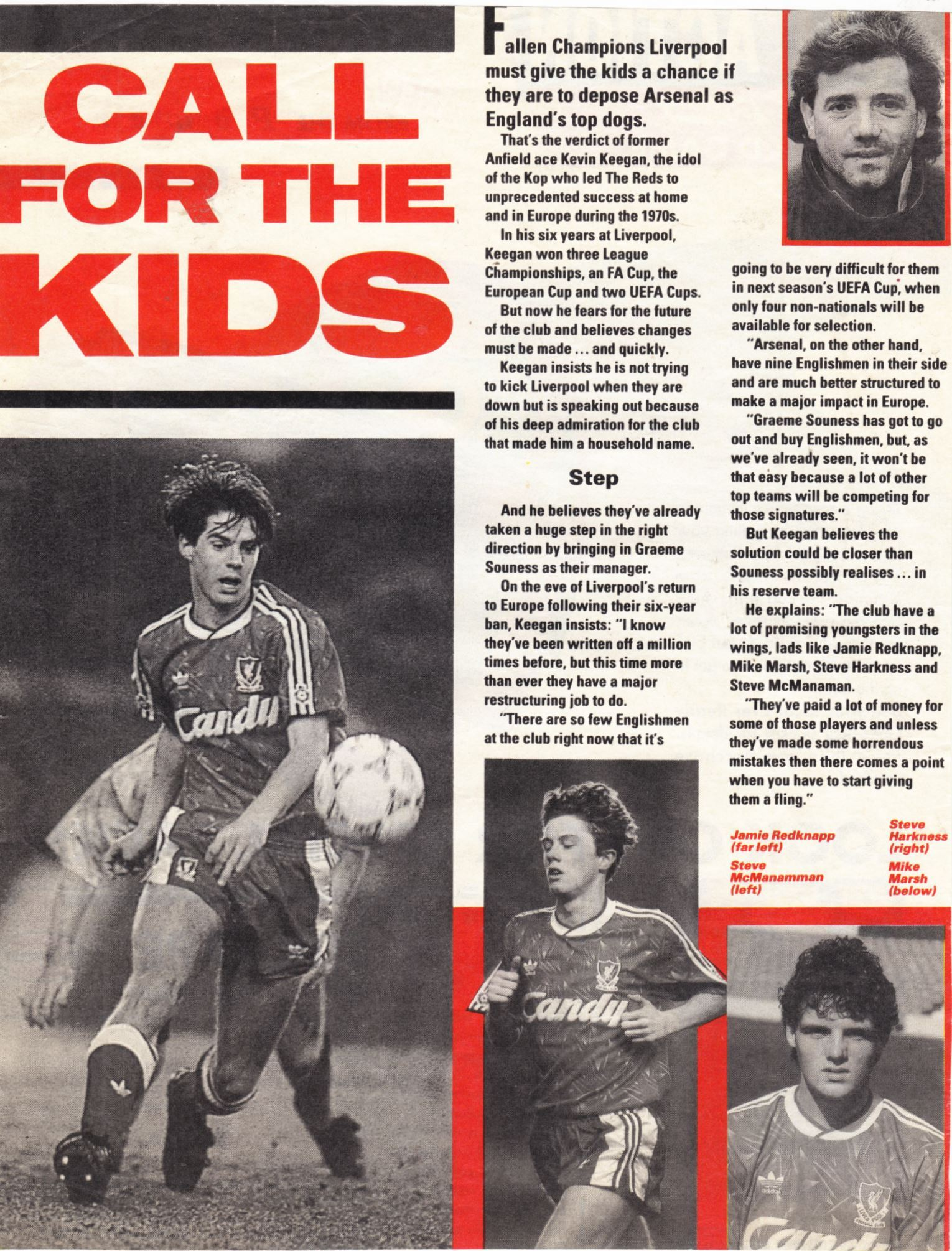 Call for the kids - August 1991