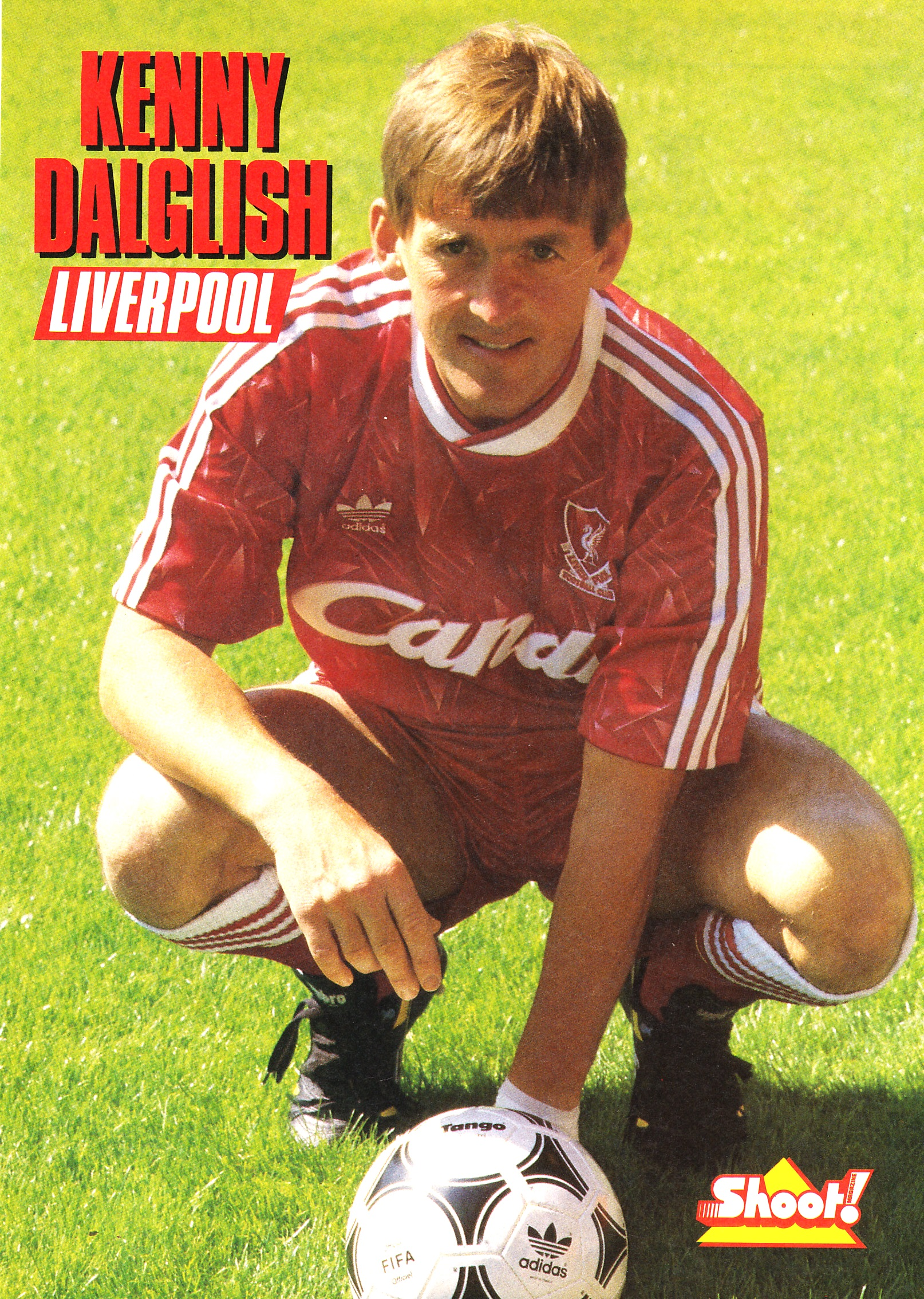 Poster of Kenny from the 1989/90 season