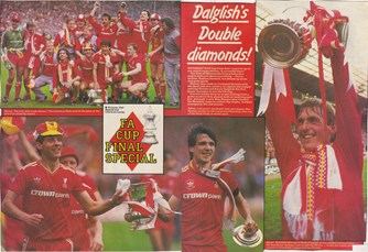 Dalglish's double diamonds!