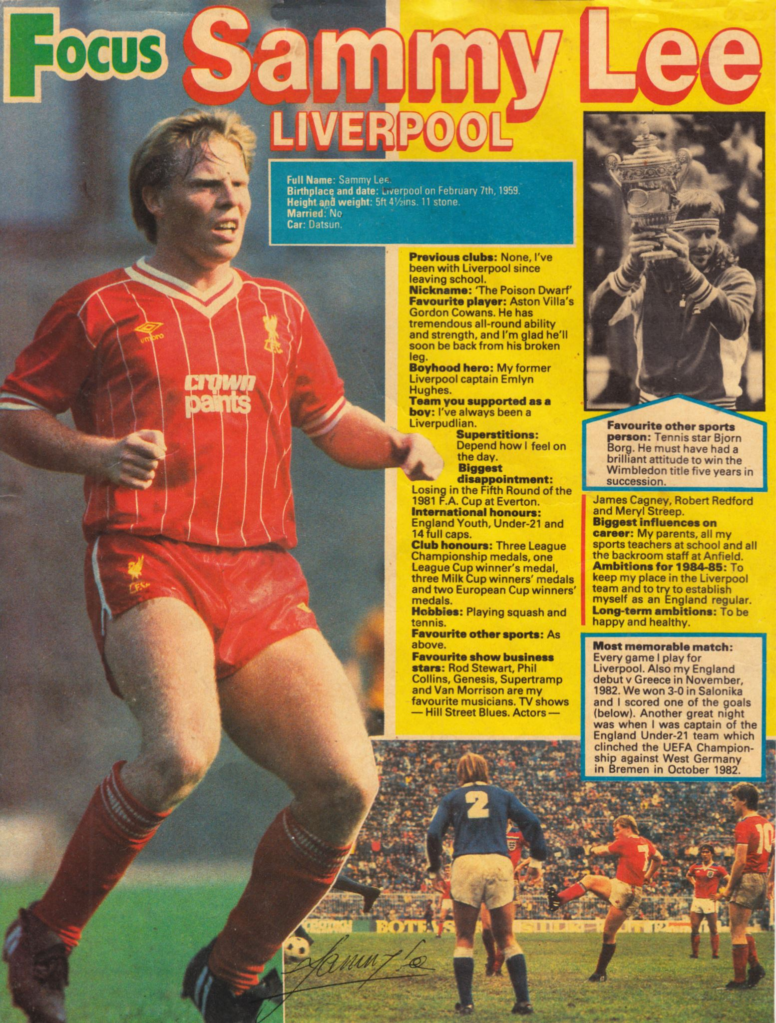 Shoot! Focus on Sammy Lee - 1984