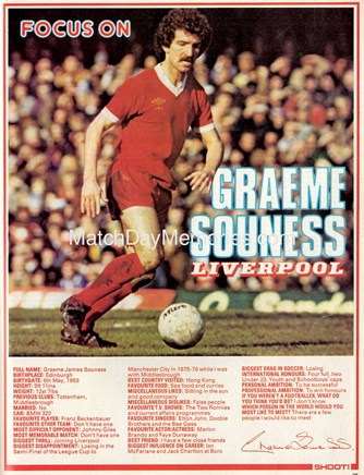 Focus on Graeme Souness