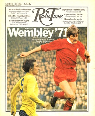 Cover of the Radio Times in 1971