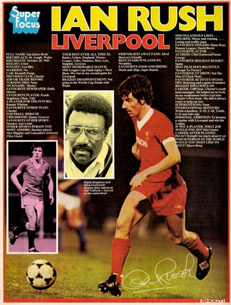 Super Focus on Ian Rush