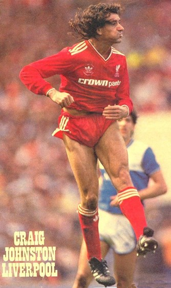 Craig Johnston in action in the 1986 FA Cup final