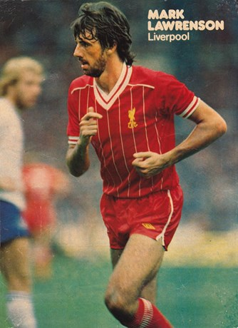Poster of Mark Lawrenson - 1982