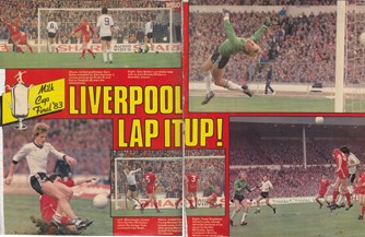 Liverpool lap it up