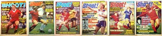 Sammy Lee on the cover of Shoot! 1981-1984