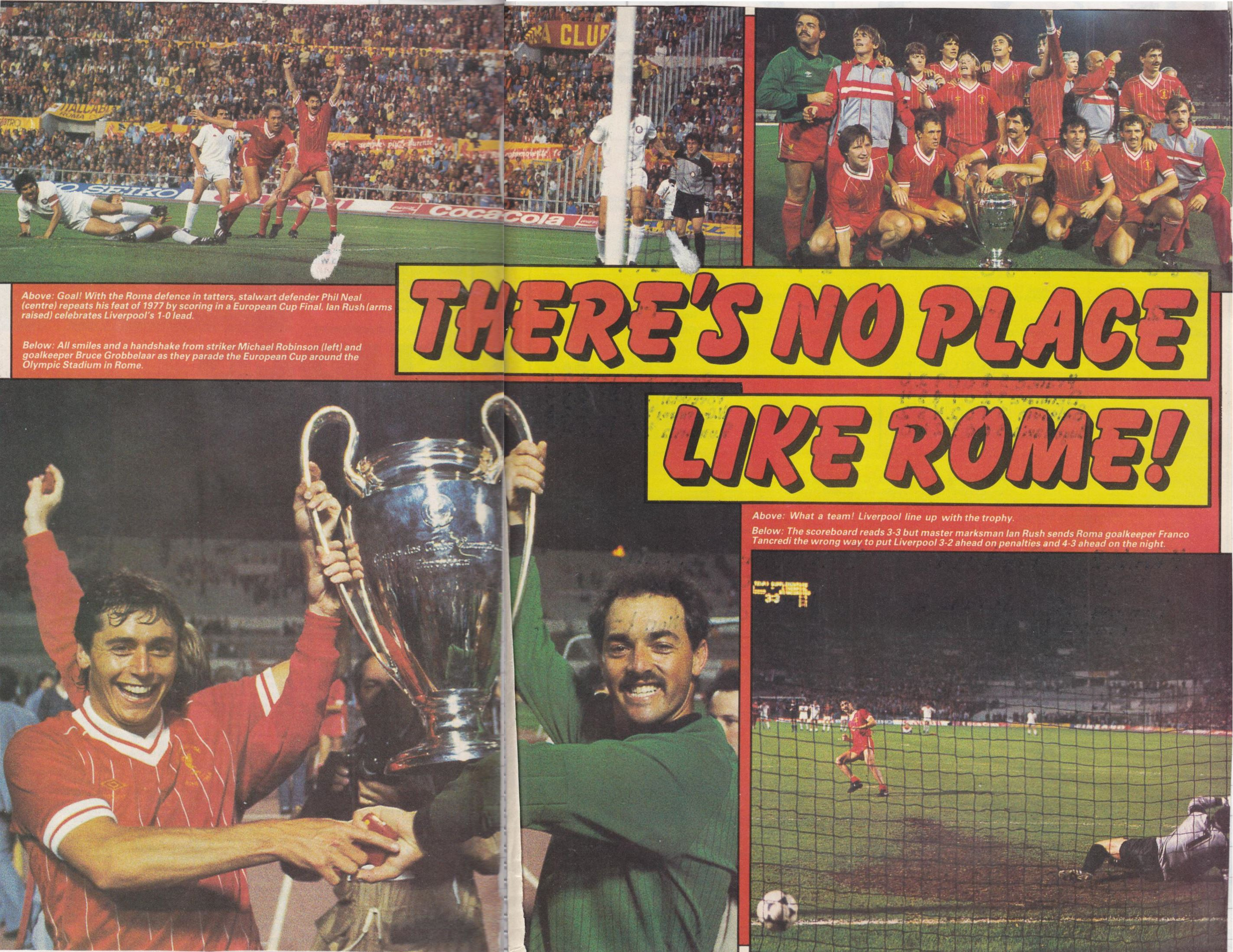 There's no place like Rome! - 1984