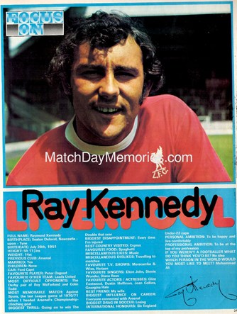 Focus on Ray Kennedy