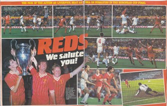 Reds we salute you! - May 1984