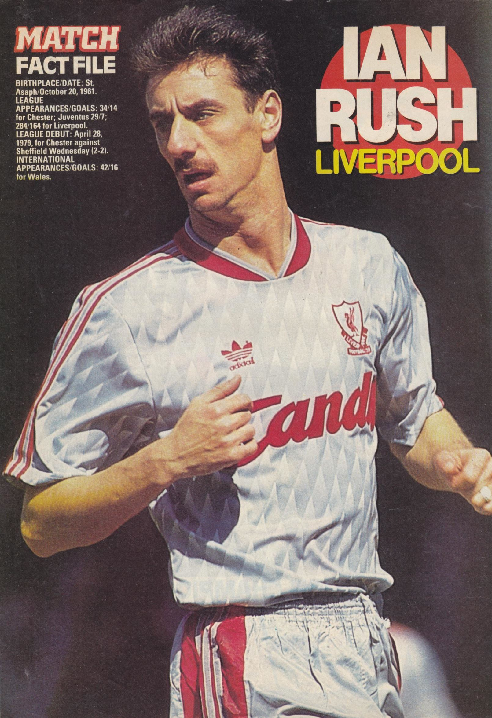 premium selection 7159f 356d8 Liverpool career stats for Ian Rush - LFChistory - Stats ...