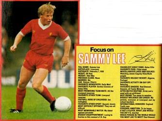 Focus on a young Sammy Lee