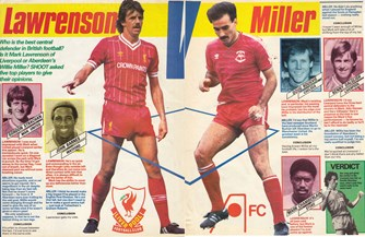 Who is the best centre-half in Britain? - Lawro or Willie Miller