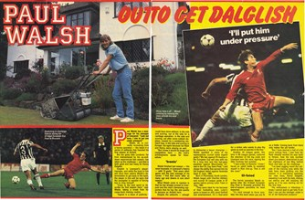 Paul Walsh out to get Dalglish - 1985