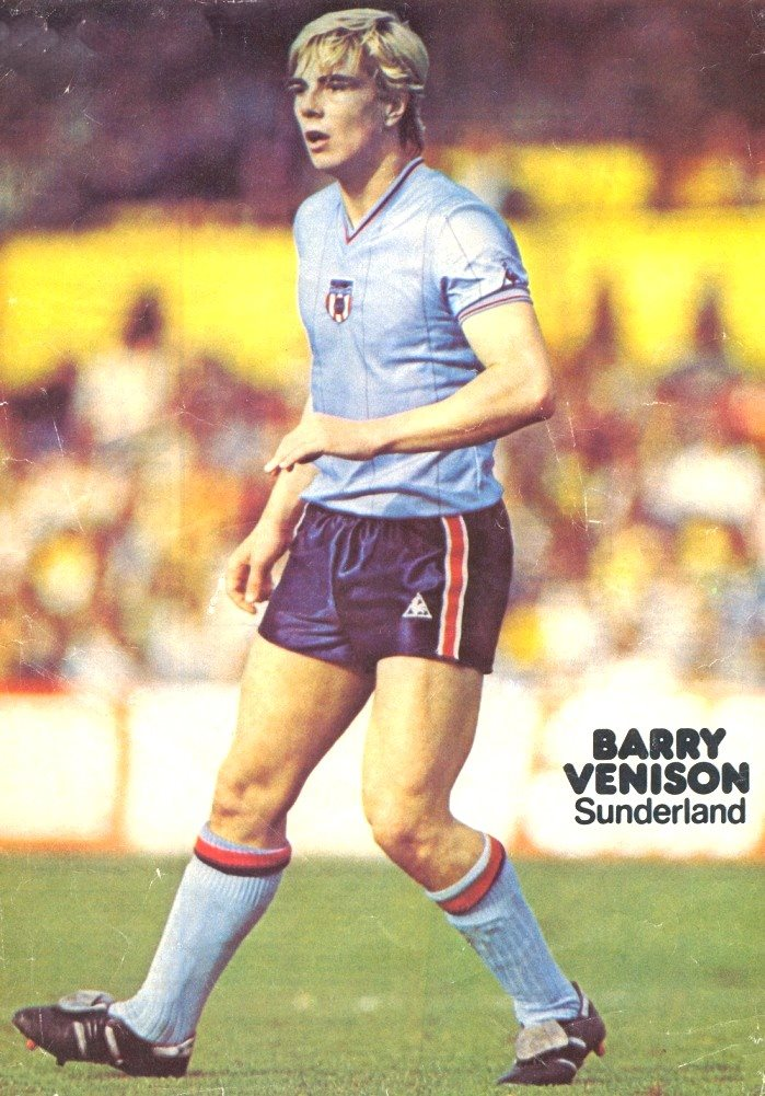 Poster of Sunderland's Barry Venison