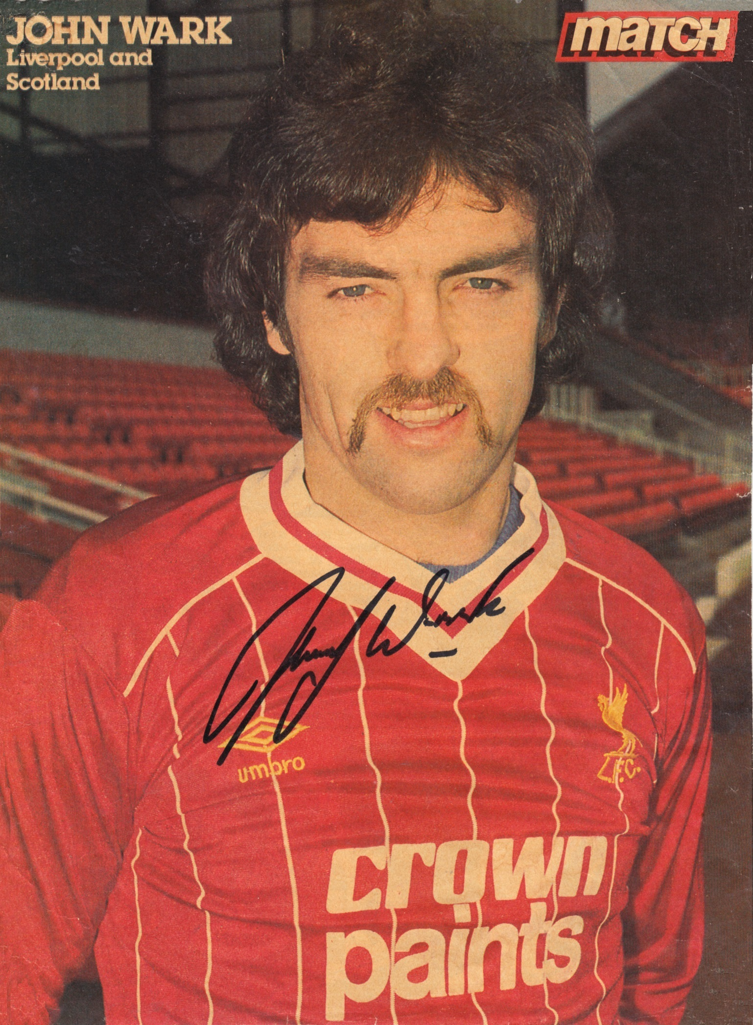 Wark joins Liverpool 10 March 1984