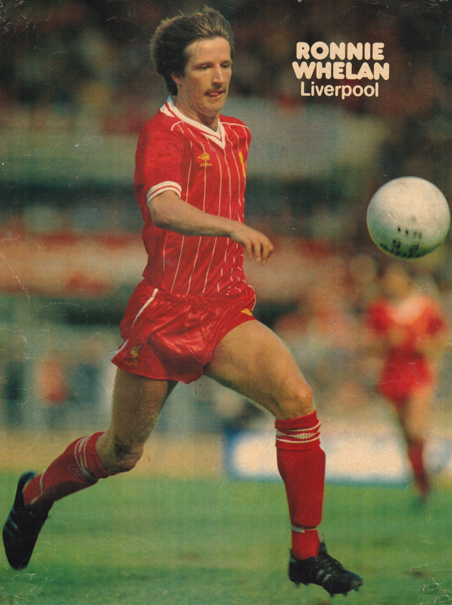 Poster of Ronnie Whelan - 1982