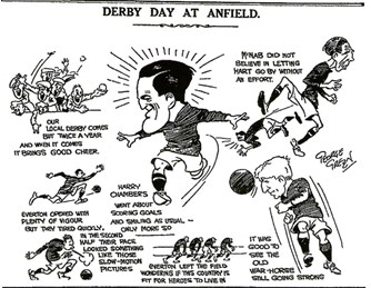 Derby Day at Anfield (sketch) - 7 October 1922