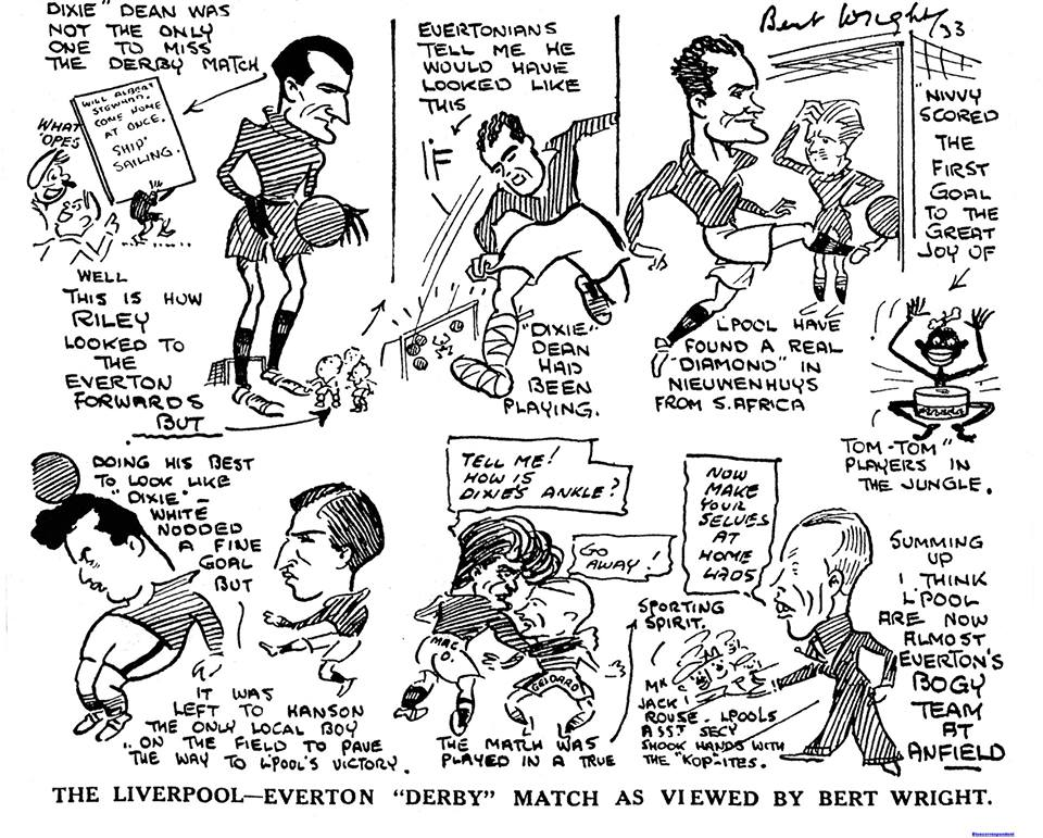 Liverpool Echo sketch - 30 September 1933