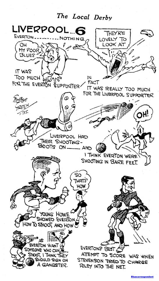 Liverpool Echo sketch - 7 September 1935