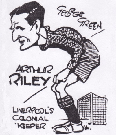 Liverpool's colonial keeper - 1934 (sketch)