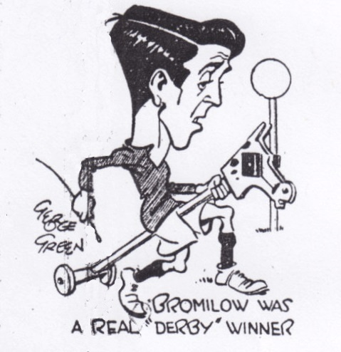 Bromilow was a real derby winner (sketch) - October 1934