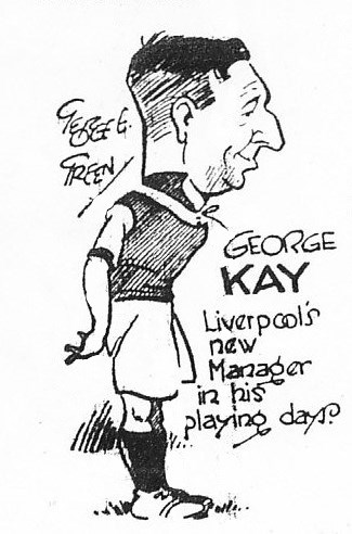 Liverpool's manager in his playing days (sketch) - August 1936