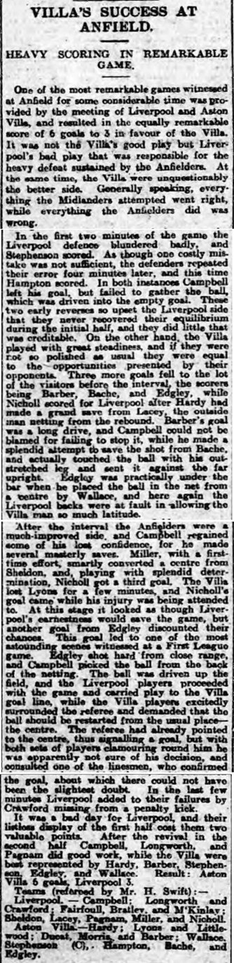 Liverpool Daily Post report