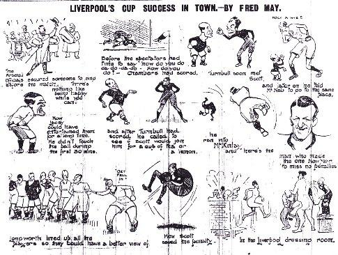 Liverpol knocked out Arsenal in the cup - Click to view a larger image